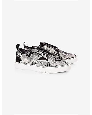 EXPRESS Men's Shoes Creative Recreation Lacava Q Tribal Print Sneaker
