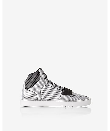 creative recreation woven cesario high top sneaker