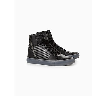 creative recreation adonis black ripple sneakers