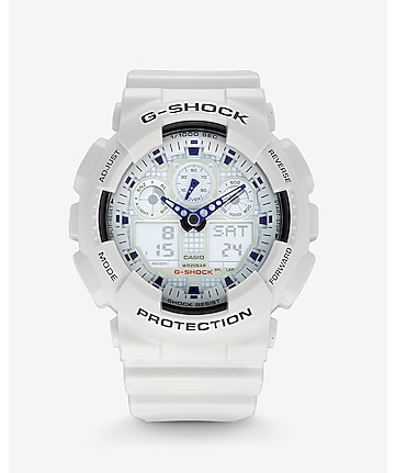 g-shock extra large white watch