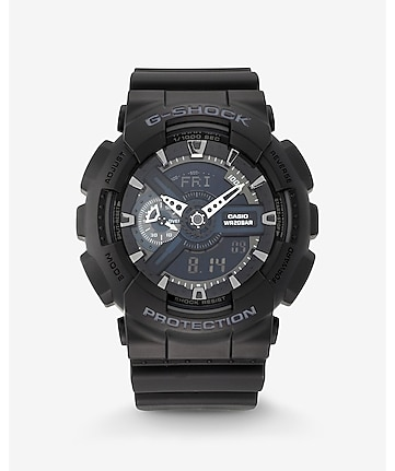 g-shock extra large black watch