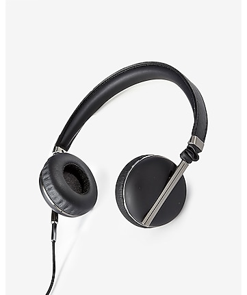 caeden black linea no 1 on ear headphones
