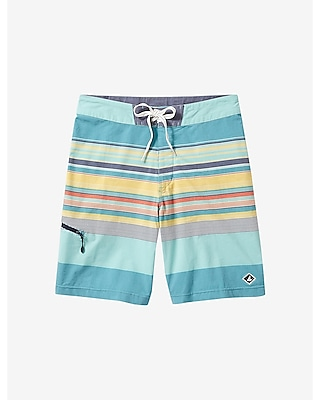 Express Mens Sperry Striped Board Shorts
