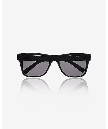 matte square sunglasses