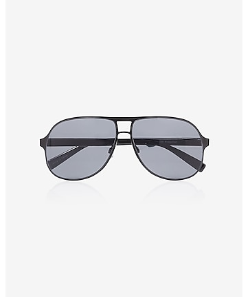 matte aviator sunglasses