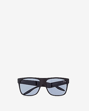 matte rubber square sunglasses