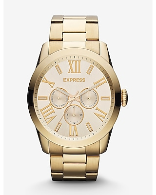 VENICE MULTI-FUNCTION WATCH - GOLD