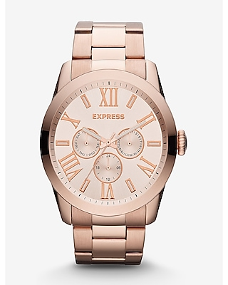 VENICE MULTI-FUNCTION WATCH - ROSE GOLD