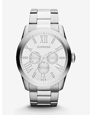 VENICE MULTI-FUNCTION WATCH - SILVER