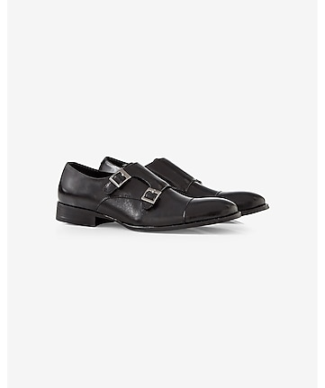 double monk strap dress shoe