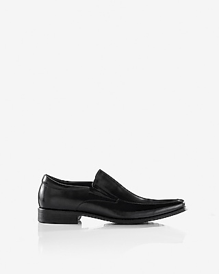 Express Mens Leather Loafer Dress Shoe