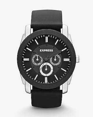 Express Mens Rivington Multi-Function Watch - Black