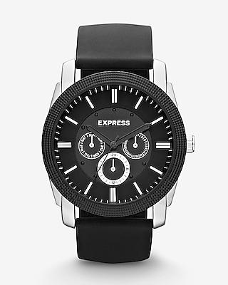 Express Mens Rivington Multi-Function Watch - Black