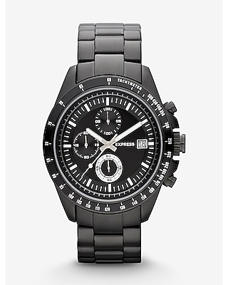 MADISON CHRONOGRAPH WATCH - BLACK