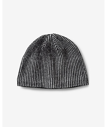 plaited shaker knit beanie