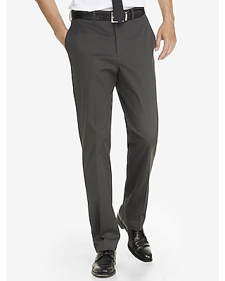 Express Mens Relaxed Agent Stretch Cotton Dress Pant