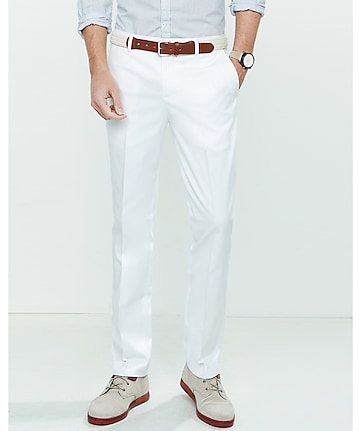 slim photographer stretch cotton dress pant