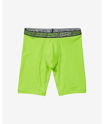 EXP core extended length performance boxer briefs - green