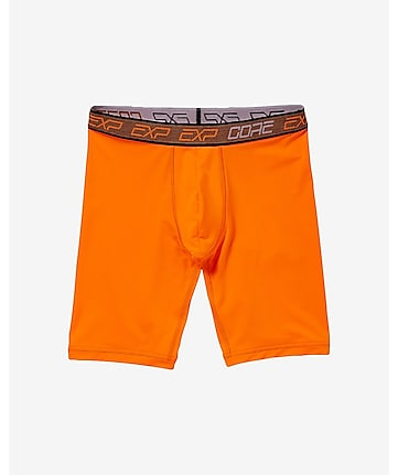 EXP core extended length performance boxer briefs - orange