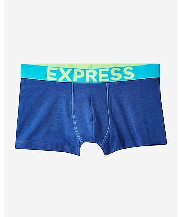 contrast band sport trunk