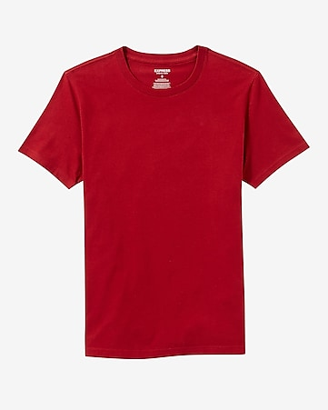 flex stretch crew neck tee