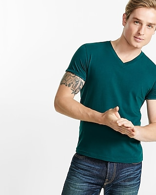 Express Mens Flex Stretch Crew Neck Tee