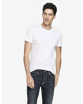 Express Mens Cotton Crew Neck Tees 2 Pack