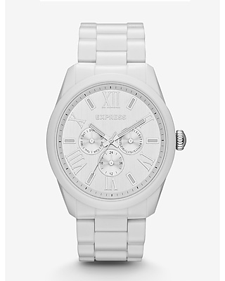 VENICE MULTI-FUNCTION WATCH - WHITE