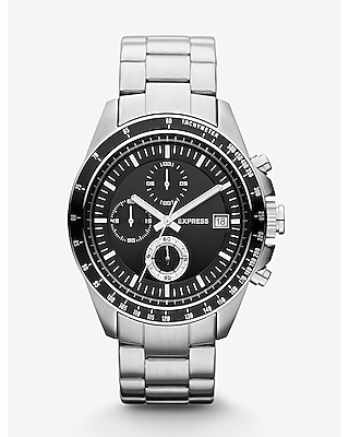 MADISON CHRONOGRAPH STAINLESS STEEL WATCH