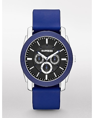 Express Mens Rivington Multi-Function Watch - Blue