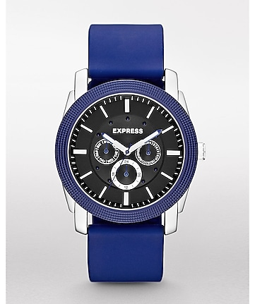 rivington multi-function watch - blue