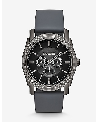 Express Mens Rivington Multi-Function Watch - Gray