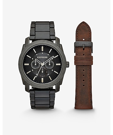 rivington multi-function watch giftset