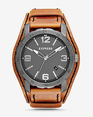 Express Mens Norfolk Fatback Watch