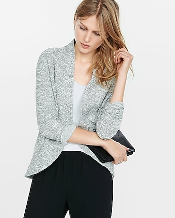 textured knit cover-up