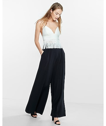 fringed cropped cami