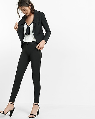 Express Womens Peak Lapel Blazer