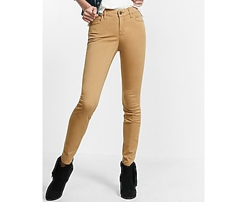 mid rise five pocket legging