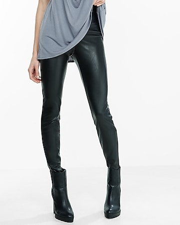high rise (minus the) leather legging