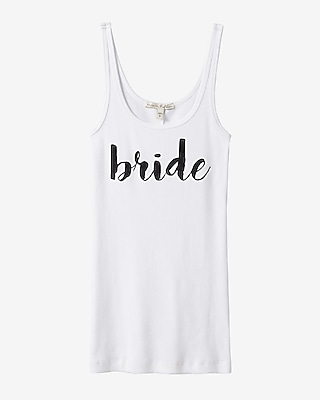 Express Womens Express One Eleven Bride Ribbed Tank