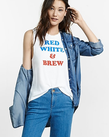 express one eleven red white and brew tank