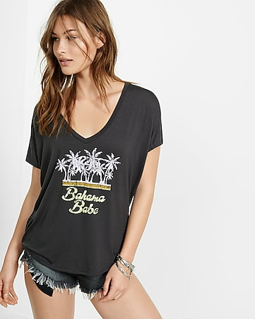 express one eleven bahama graphic london tee