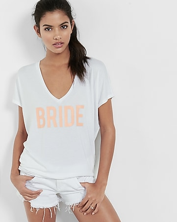 express one eleven bride graphic london tee