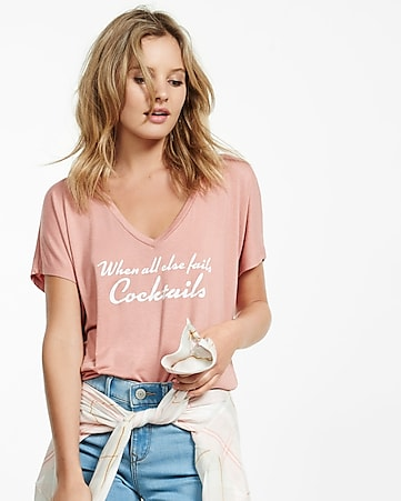 express one eleven cocktails graphic tee