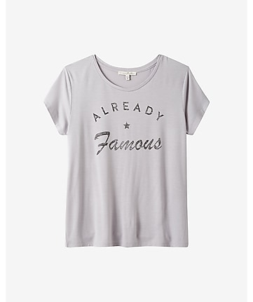 express one eleven already famous graphic tee