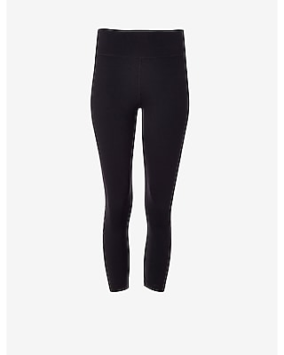 Express Womens Exp Core Compression Crop Leggings