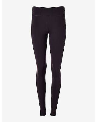 Express Womens Exp Core Seamed Compression Leggings