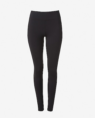 EXP core mesh side stripe compression legging