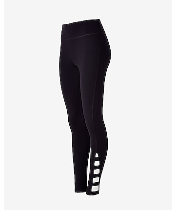 black cutout EXP core legging