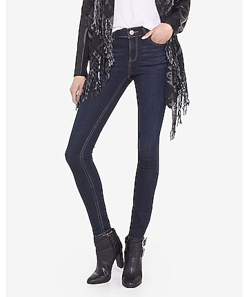 high waisted jean legging